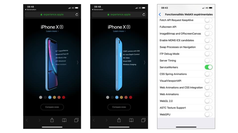 experience iphoneX