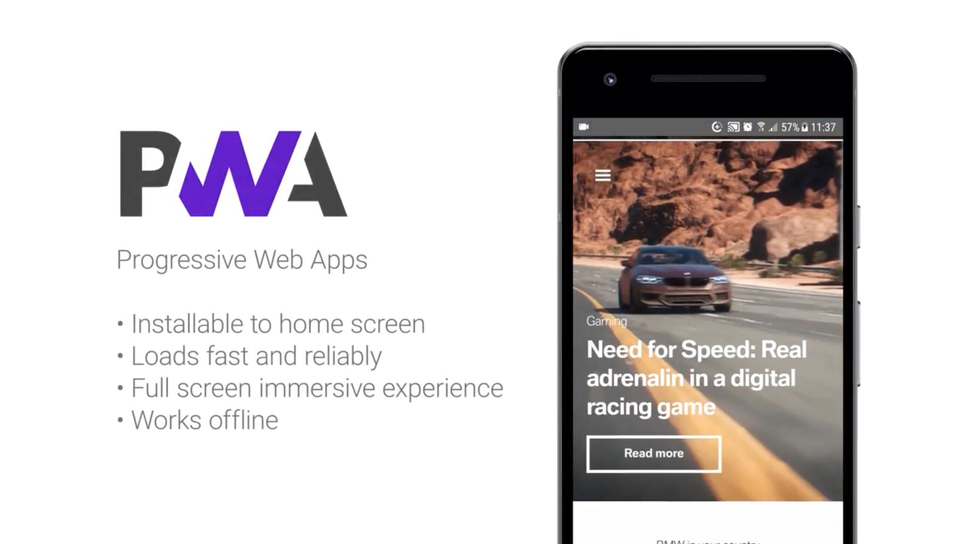 PWA BMW