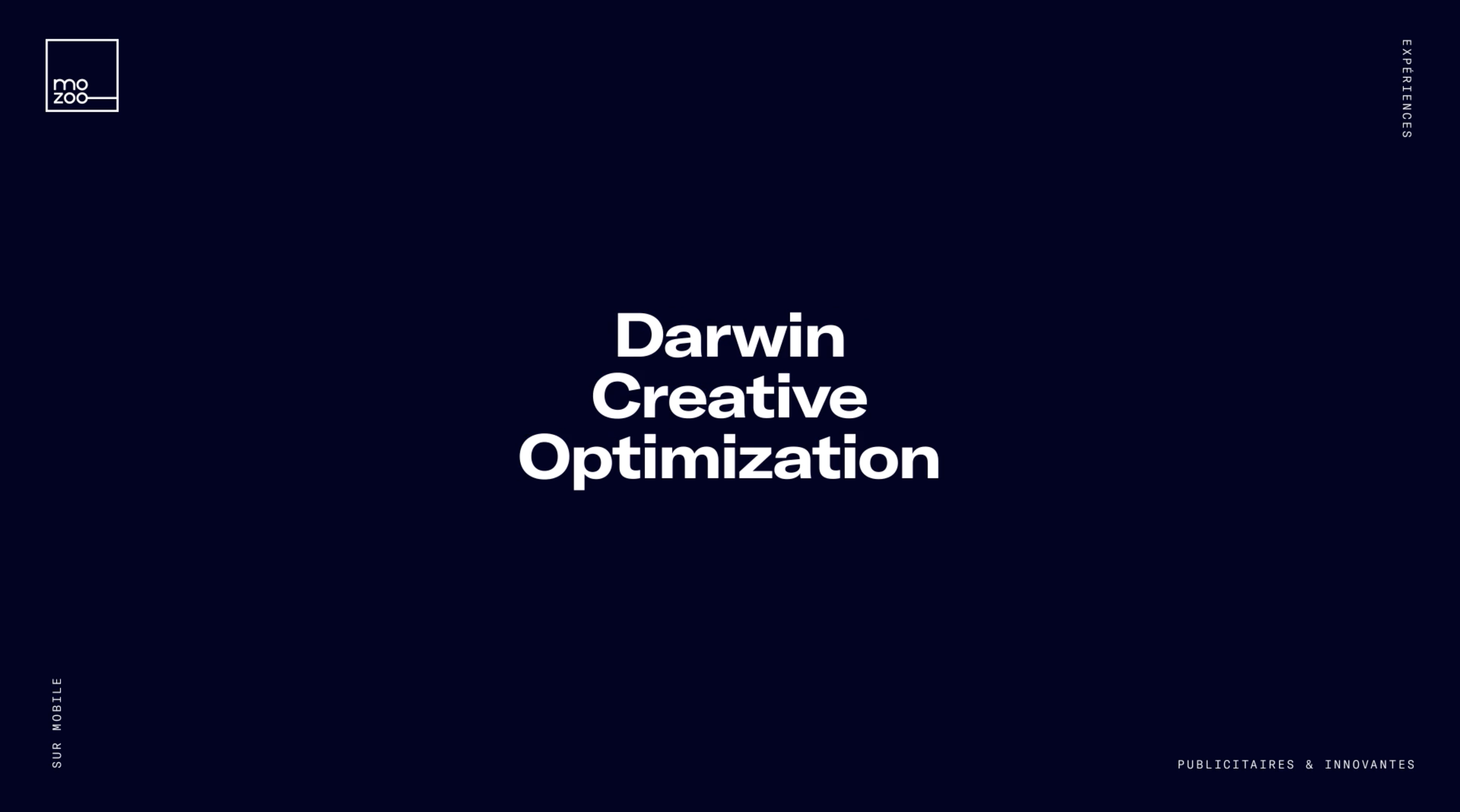 Mozoo Darwin Creative Optimization